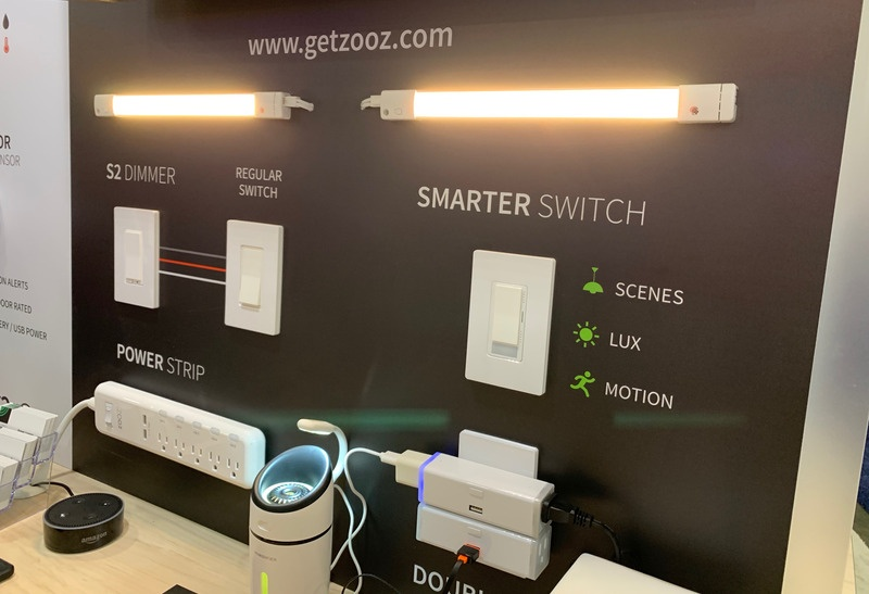 Zooz Smart Switches CES smart home gadgets