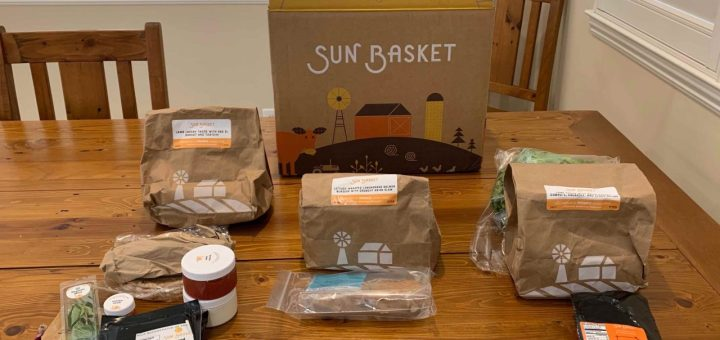 sun basket unboxed
