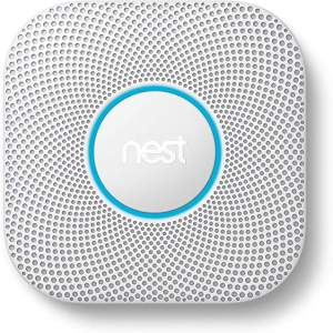 Nest Protect 2nd Generation Smoke and Carbon Dioxide Detector.