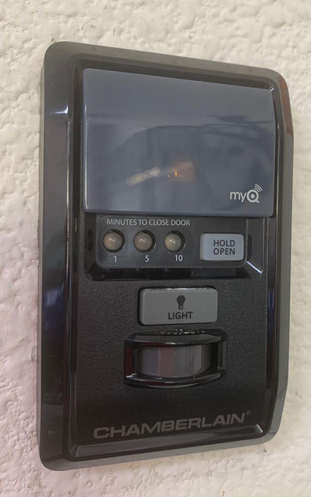 Liftmaster MyQ Button