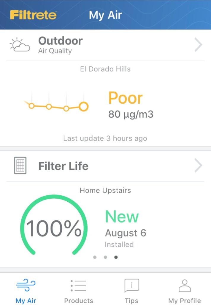 Filtrete Smart Air Filter Air Poor