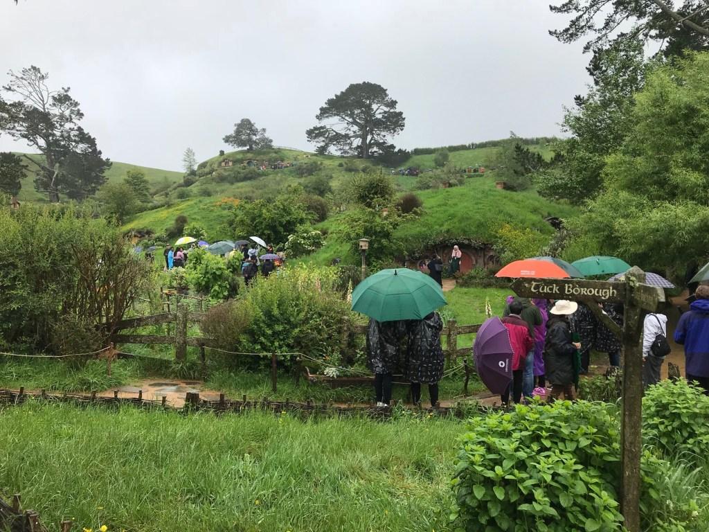 Hobbiton Rain
