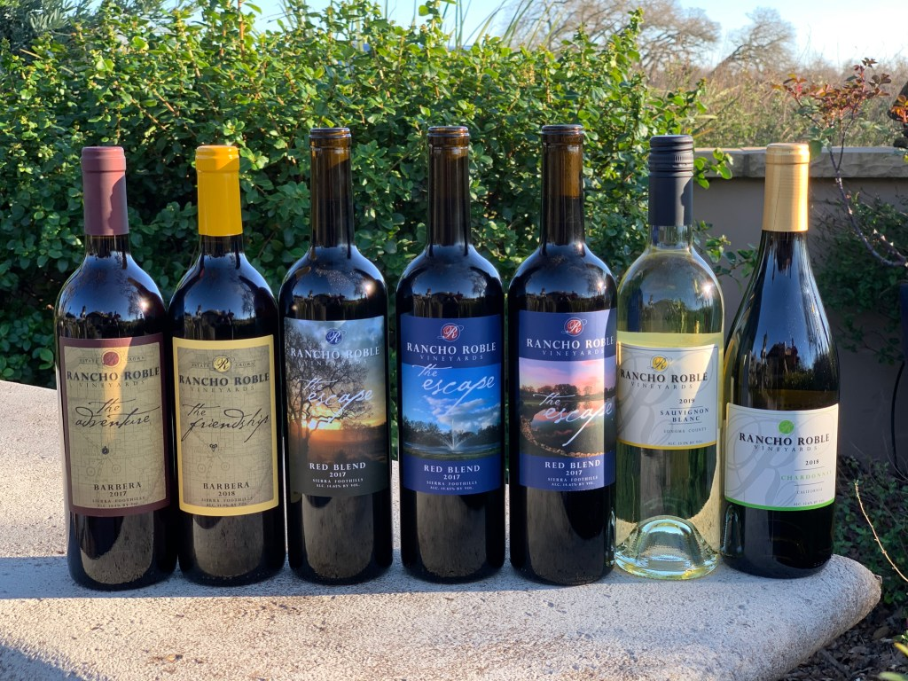 Rancho Roble wines