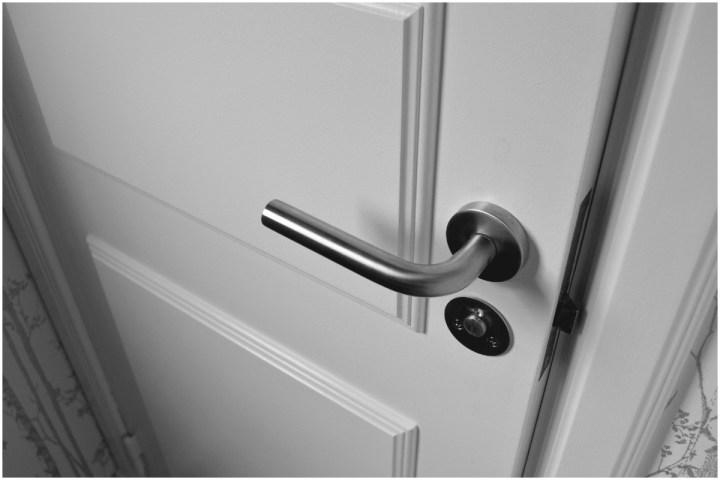 Door slightly open