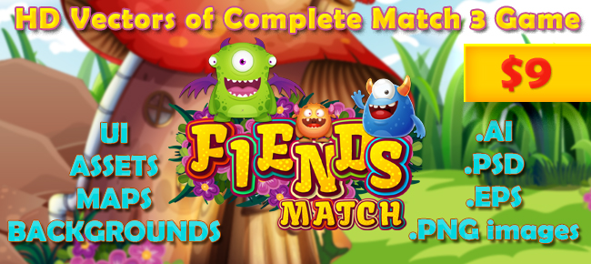 Fiends-Match-3-Game
