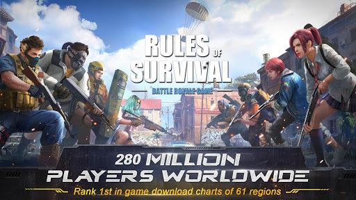 لعبة Rules of survival XAPK