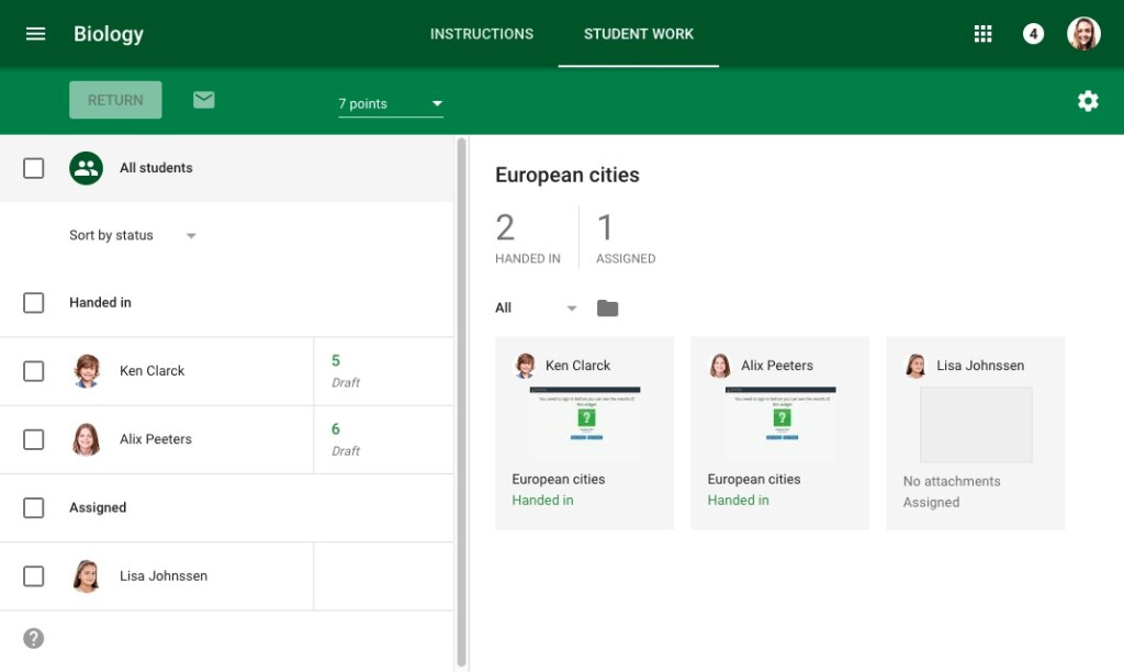 مميزات Google Classroom
