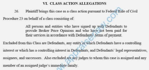 Class action lawsuit against BPO AMC for unpad fees