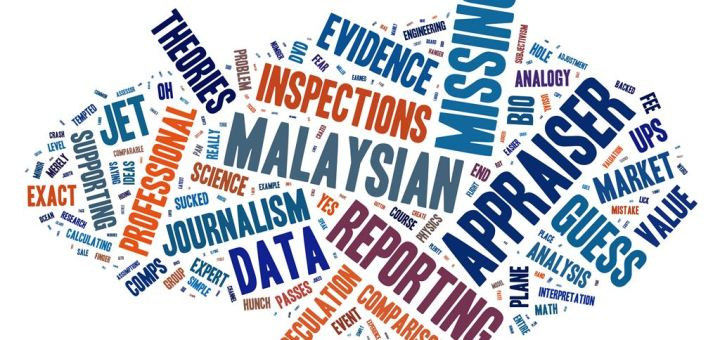 What Does the Missing Malaysian Jet have to do with Appraising