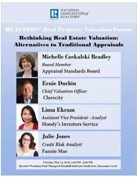 NAR Rethinking Valuation speakers