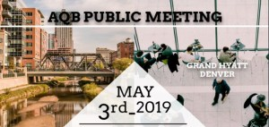 AQB Public Meeting May 2019