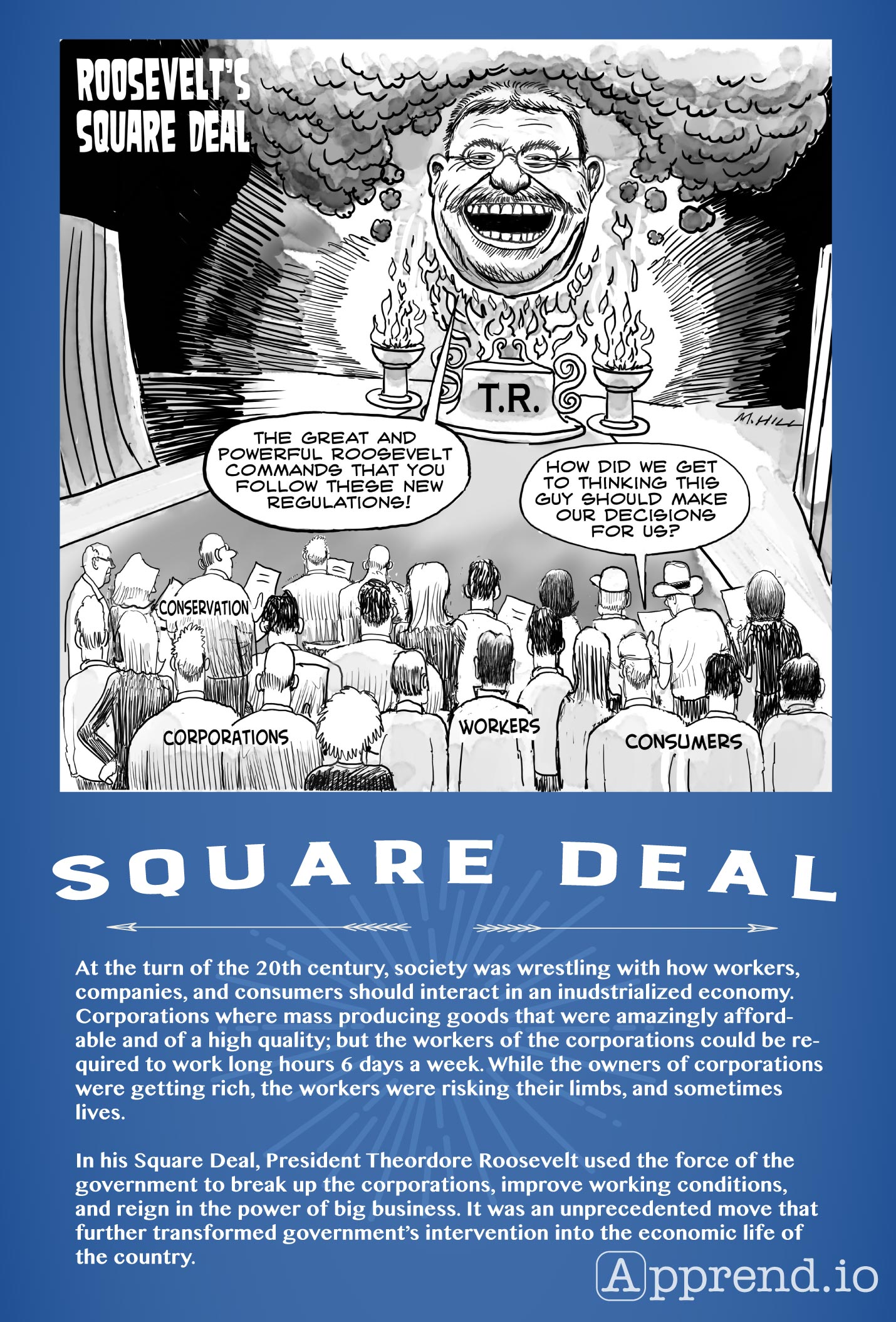 The Square Deal For Apush