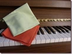 Microfibre et chiffon doux pour le piano