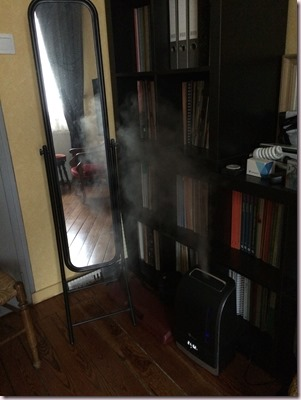 humidificateur en action pour le piano