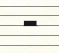 La demi-pause en musique
