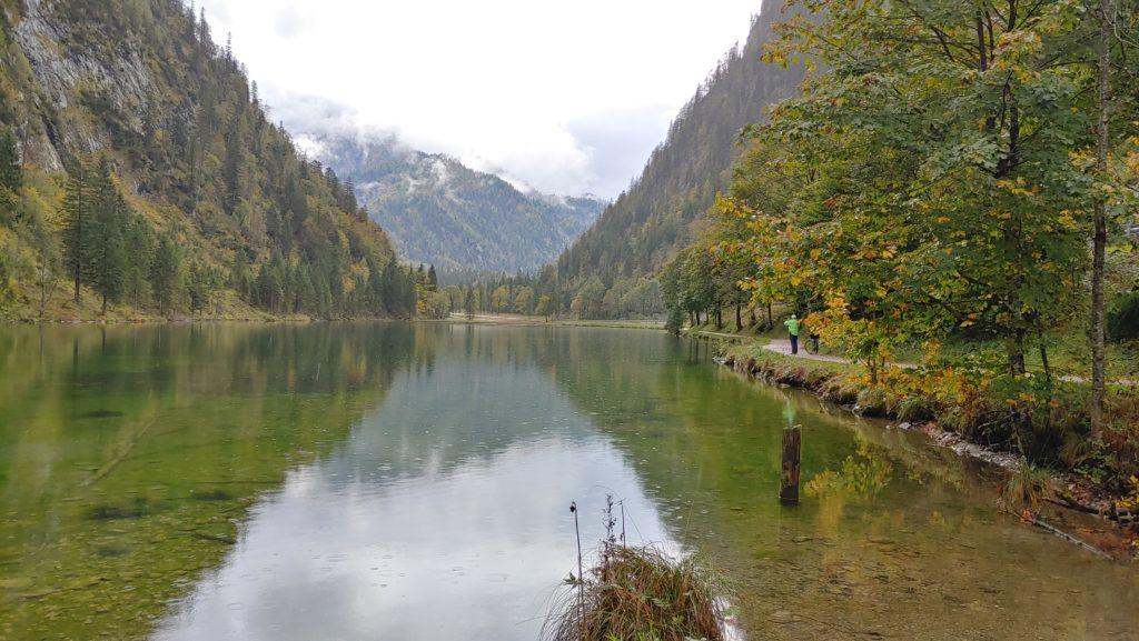 Lac sur la route allemande des alpes