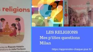 les religions enfants