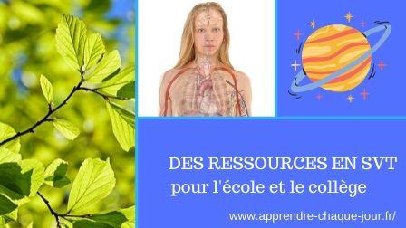 ressources SVT