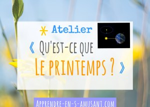 Couverture Projet Atelier Printemps Planetes