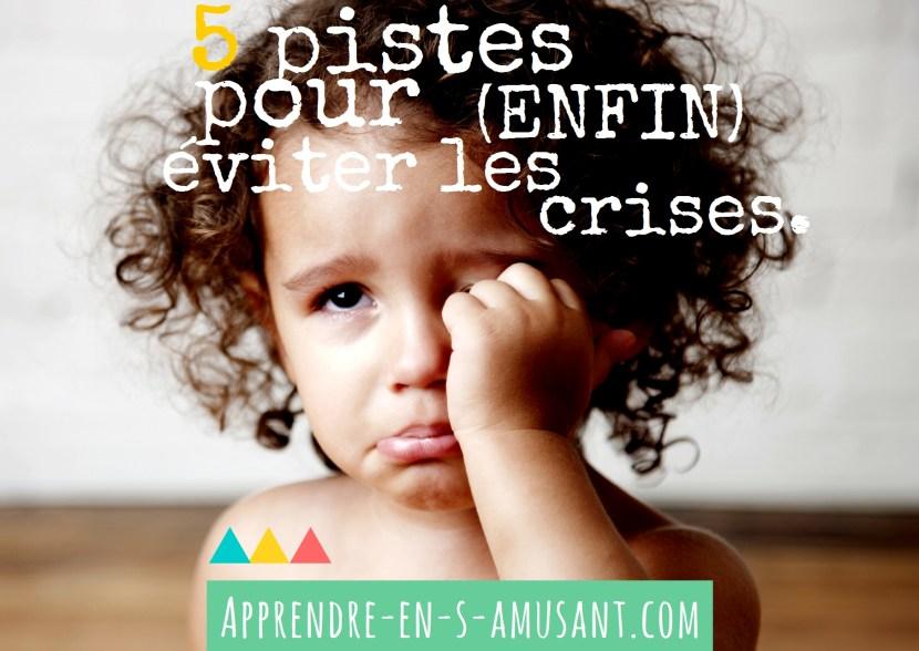 Couverture article Eviter crises 2