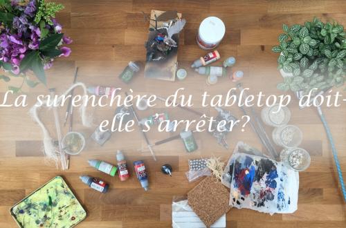 peinture tabletop