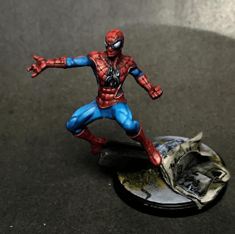 Spiderman Marvel Crisis protocol