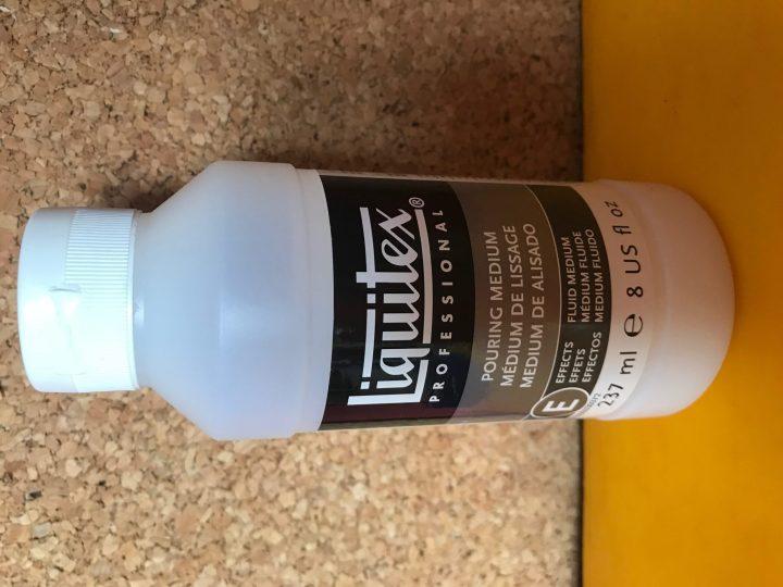 Médium de lissage pour acrylique pouring