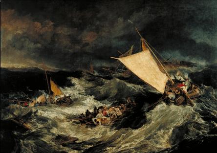 Le naufrage de Joseph Mallord William Turner (1805)