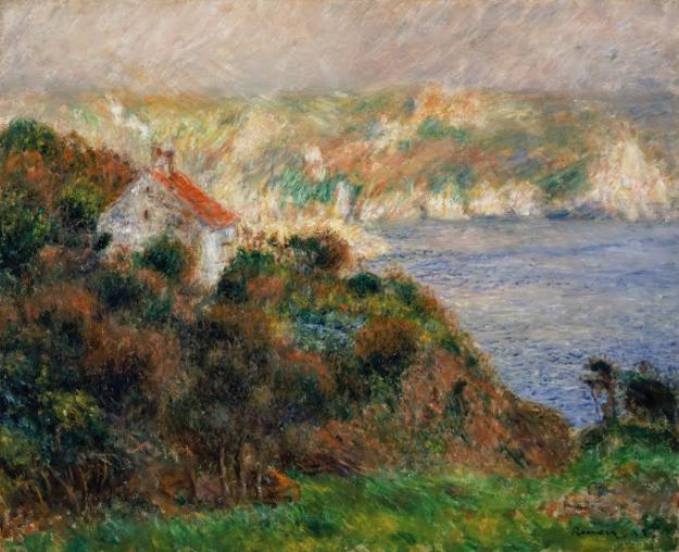 Brouillard à Guernsey de Auguste Renoir reflète bien son style artistique
