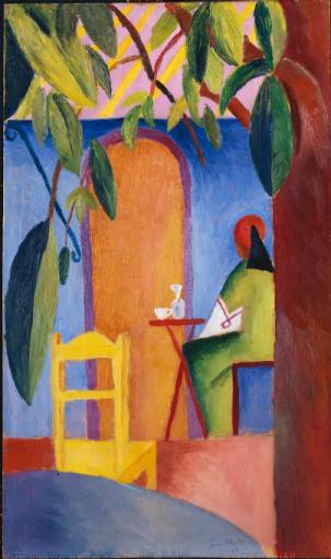 Café turc - Auguste Macke