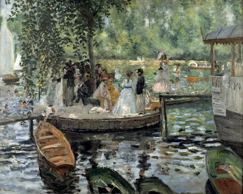 La grenouillere - Auguste Renoir