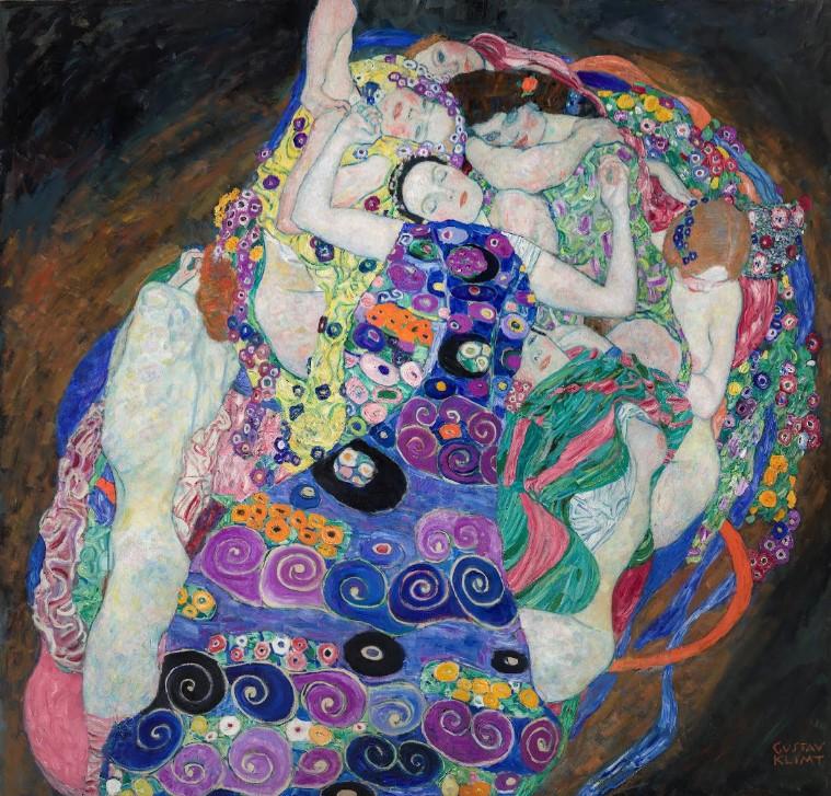 La Vierge - Gustav Klimt - 1913