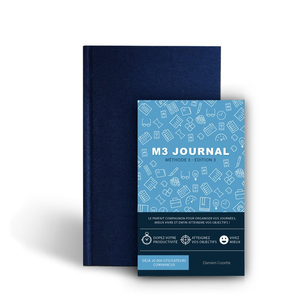 M3 Journal : un outil anti-procrastination pour entreprendre tout ce que vous souhaitez 1