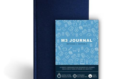 M3 Journal : un outil anti-procrastination pour entreprendre tout ce que vous souhaitez 8