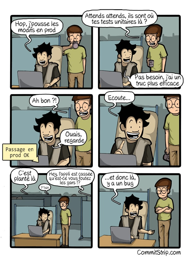 Commitstrip tests unitaires