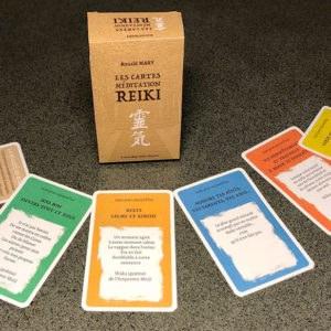 Cartes de méditation Reiki