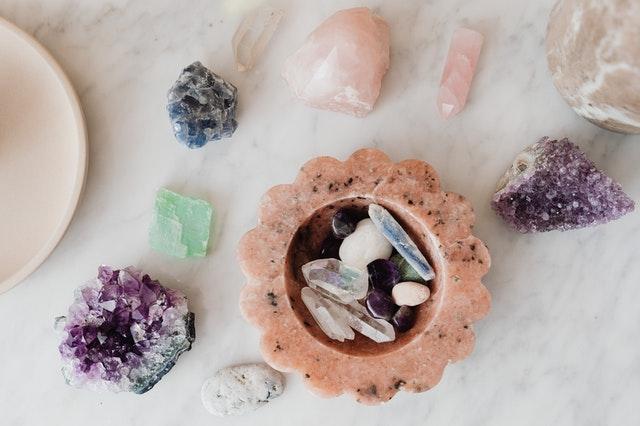 purifier les pierres et les recharger