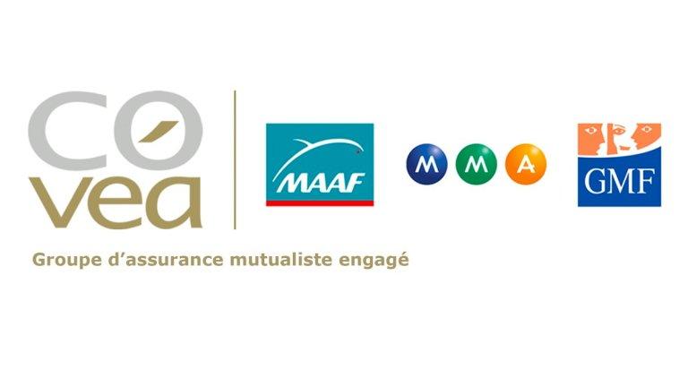 le groupe COVEA composé de MAAF, GMF et MMA