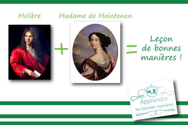 Molière, Madame de Maintenon et l'art de la conversation