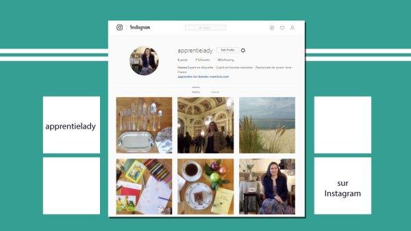instagram-apprentie-lady-hanna-gas apprentielady sur Instagram coach bonnes manières protocole politesse usages savoir-vivre