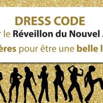 Dress code pour le Réveillon du Nouvel An : 7 critères pour être une belle lady ?