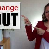 Je CHANGE TOUT !