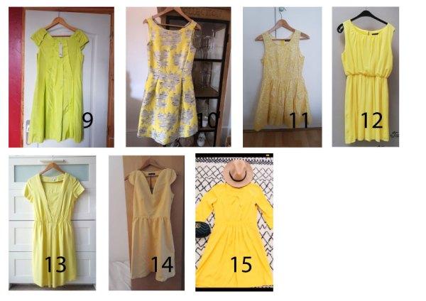 robe-jaune-2 élégance de lady Une robe jaune parfaite