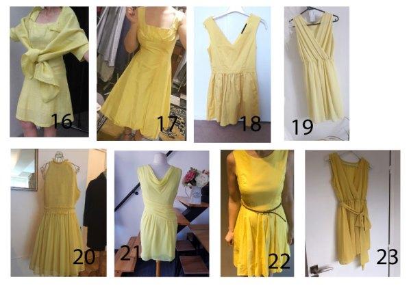 robe-jaune-3 robe-jaune-2 élégance de lady Une robe jaune parfaite femme choix robe