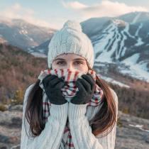 Une femme doit-elle se déganter s'il fait super froid ? gants femme laine cuir