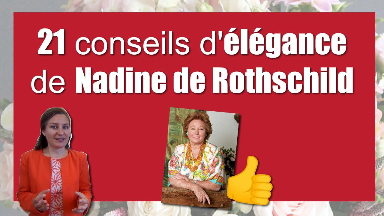 Guide Des Bonnes Manieres Rothschild les 21 conseils de l'élégance vestimentaire de nadine de