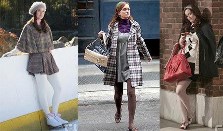 preppy style blair waldorf gossip girl tenue bcbg