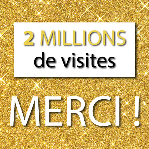 2 millions visites record Apprendre les Bonnes Manières