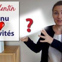 St Valentin à la MAISON : MENU & ACTIVITÉS --- 10 points à valider --- (+ 3 pour les catholiques)