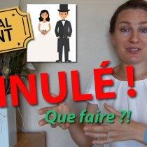 Mariage, communion, baptême annulés à cause du confinement/virus: quelle étiquette pour les invités?